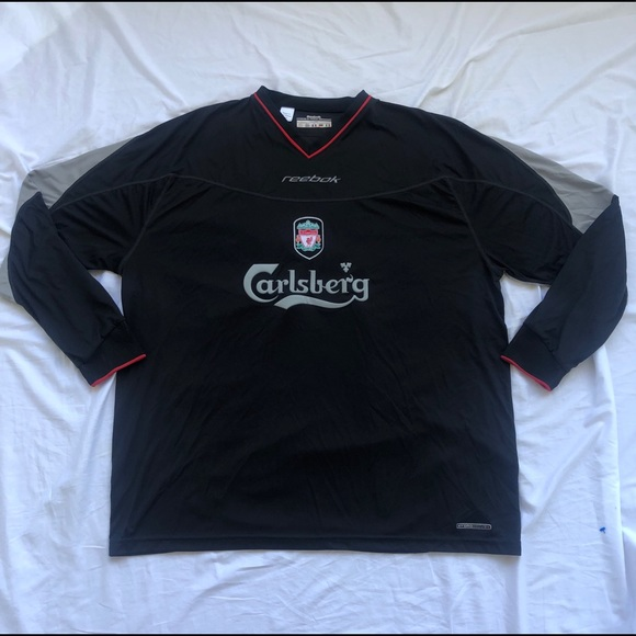 pretty nice faa43 02629 VTG Reebok Liverpool Carlsberg Long Shirt 02 3xl